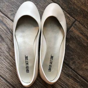 Shoes - White flats
